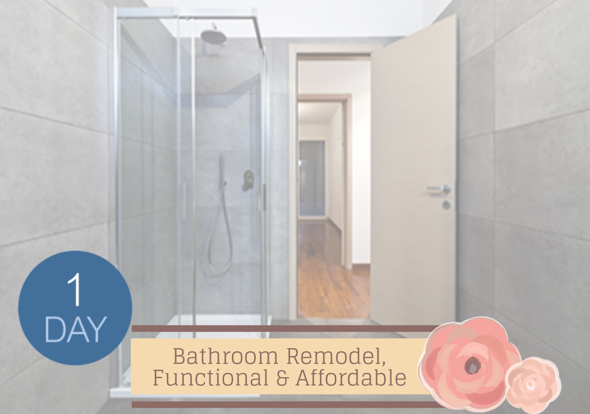 1-Day Bathroom Remodels: Affordable, Convenient & Stylish